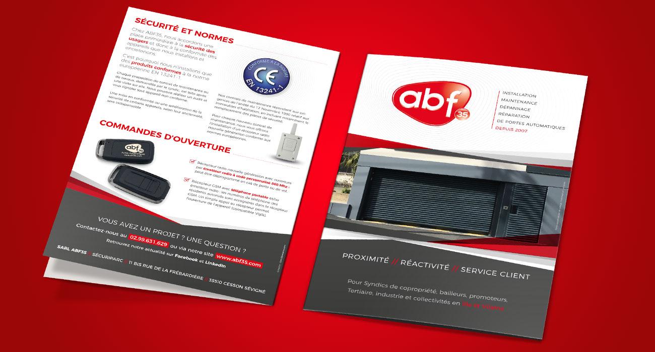 Plaquette commerciale ABF35