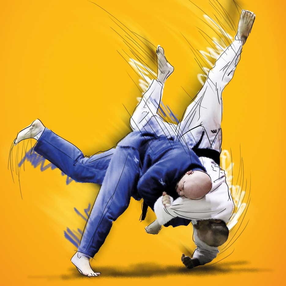 Illustration Judo Club