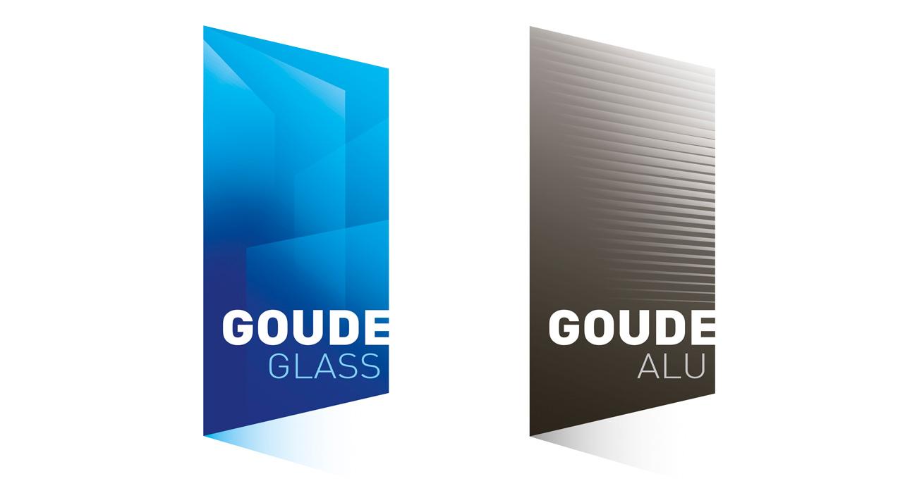 Logos Goude Glass et Goude Instal