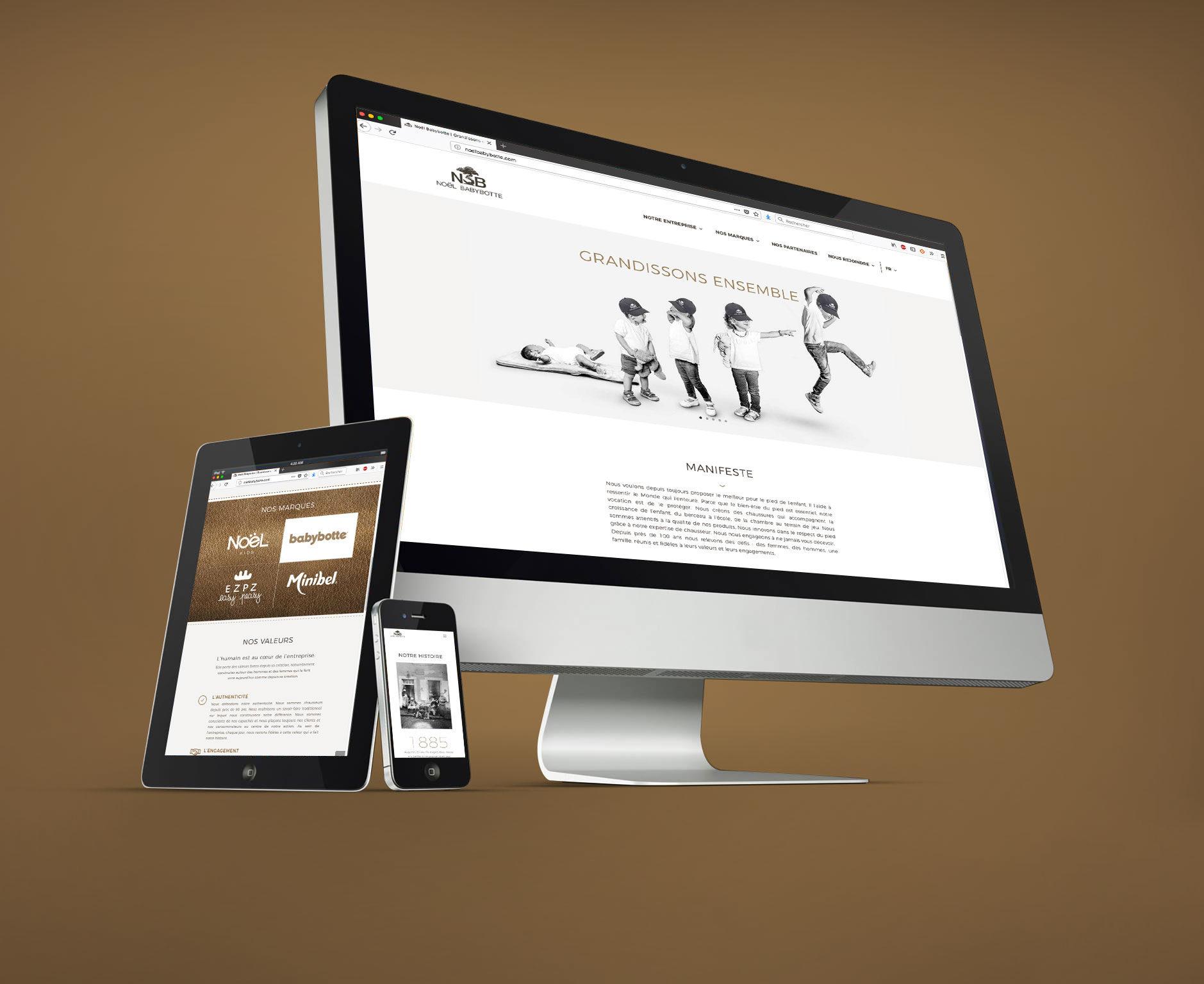 Site internet Noël Babybotte